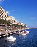Monte Carlo Waterfront. Stock Image