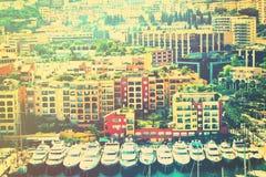 Monte, Carlo zatoka - Fotografia Royalty Free