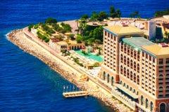 Monte, Carlo zatoki kurort w Monaco - Zdjęcia Royalty Free