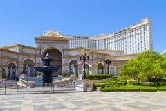Monte Carlos Hotel en toevlucht Royalty-vrije Stock Afbeeldingen
