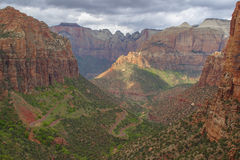Monte Carmelo, Zion National Park Imagens de Stock