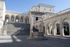 monte cassino аббатства Стоковые Изображения