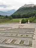 Monte Cassino Stock Image