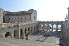 Monte Cassino Stockfoto