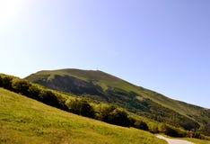 Monte Catria Στοκ Εικόνα