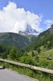 Monte Cervino Foto de archivo libre de regalías