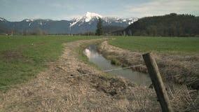 Monte Cheam, Agassiz, A.C., 4K UHD almacen de metraje de vídeo