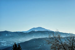 Monte Cimone Stockfotos