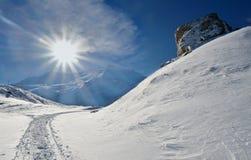 Monte Cimone Στοκ Εικόνες