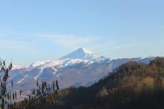 Monte Cimone i Emilia Romagna royaltyfri fotografi