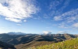 Monte Cinto от Col de Сан Colombano в Корсике Стоковая Фотография RF