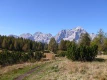 Monte Civetta Imagen de archivo