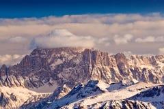 Monte Civetta, dolomías, Italia. imagen de archivo libre de regalías