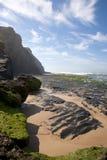 Monte Clerigo, côte Vicentina, l'Alentejo, Portugal Photos libres de droits