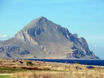Monte Cofano Photographie stock