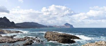 Monte Cofano Royalty-vrije Stock Fotografie