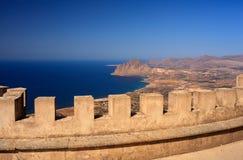 Monte Cofano Erice Royaltyfri Fotografi