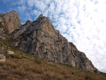 Monte Cofano. Nature Reserve Mount cofano trapani Sicily stock photos