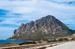 Monte Cofano  Stock Image