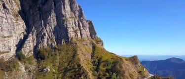 Monte Corchia, Apuan-de aardpark van Alpen, Toscanië, Italië stock foto