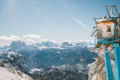 Monte Cristallo στοκ εικόνες