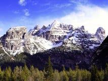 Monte Cristallo Imágenes de archivo libres de regalías