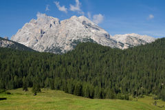 Monte Cristallo Royalty Free Stock Image