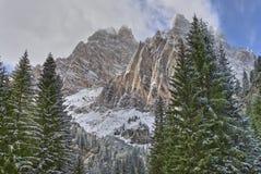 Monte Cristallo Stock Image