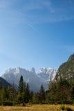 Monte Cristallo, dolomia italiane Fotografia Stock Libera da Diritti