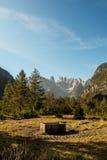 Monte Cristallo, dolomia italiane Immagini Stock