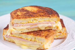 Monte Cristo sandwich Royalty Free Stock Image