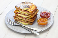 Monte cristo sandwich Royalty Free Stock Photos