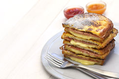 Monte cristo sandwich Royalty Free Stock Images