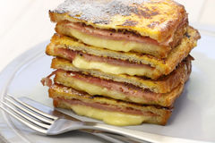 Monte cristo sandwich Stock Photography