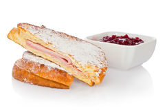 Monte Cristo Sandwich Stock Images
