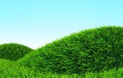 Monte da grama ilustração stock