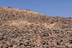 Monte da serração na cratera de Ramon Fotos de Stock Royalty Free