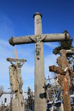 Monte das cruzes Imagens de Stock Royalty Free