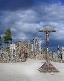 Monte das cruzes Imagens de Stock