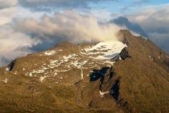 Monte das montanhas dos cumes de Hohe Tauern, Áustria Fotos de Stock