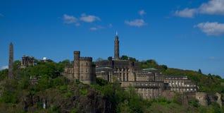 Monte de Calton, Edimburgo, Escócia fotos de stock