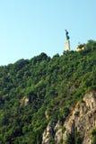 Monte de Gellert em Budapest, Hungria Foto de Stock