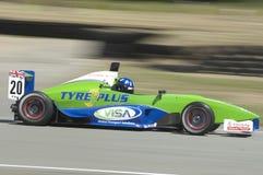 Monte de Josh no carro de corridas da série do TRS Imagem de Stock