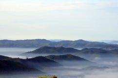 Monte de Khohong, Hatyai, Songkhla Tailândia Foto de Stock Royalty Free