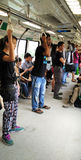 Monte de la navette à Singapour image libre de droits