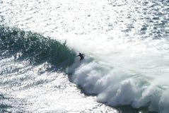 Monte de la vague Photos libres de droits