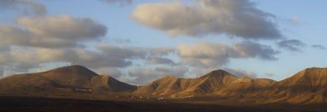 Monte de Lanzarote Imagem de Stock Royalty Free