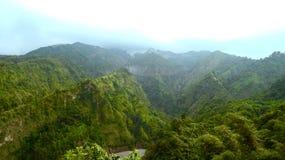 Monte de Ongakan & x28; Kelud Mountain& x29; Foto de Stock Royalty Free