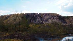 Monte de pedra foto de stock