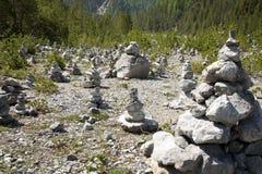Monte de pedras Imagem de Stock Royalty Free